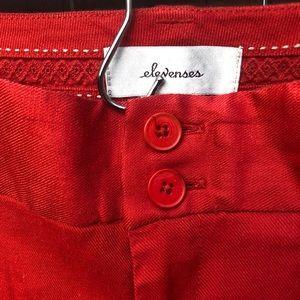 Anthropologie Pants - Anthropologie Elevenses orange benton trousers